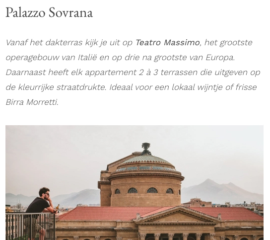 Palazzo Sovrana - Press